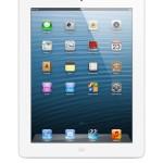 """Apple iPad Retina Wi-Fi + 16GB - Tablet (A6X, 16 GB, Flash, 246.4 mm (9.7 """"), 2048 x 1536 Pixeles, IPS) Color blanco"""