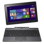 """ASUS T100TA-DK005 - Portátil táctil de 10.1"""" (Intel Atom Z3740, 2 GB de RAM, 500 GB de disco duro, Intel HD Graphics, Windows 8), Negro - Teclado QWERTY español"""
